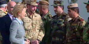 Almanya Savunma Bakanı, Erbil'de