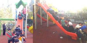 Çocuklar park istiyor