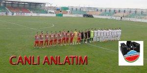Diyarbekirspor-Pazarspor maçı başladı