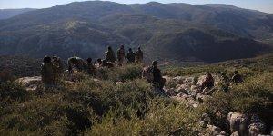 Afrin kırsalındaki Kel Tepe'de şiddetli çatışma