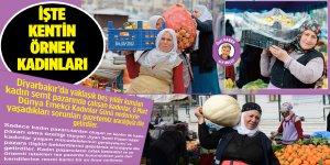 İşte Diyarbakır'ın örnek kadınları
