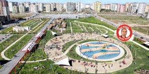 Kent meydanı parkı açılıyor