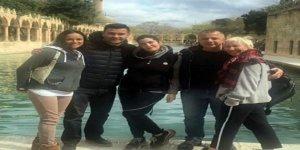 ABD'li ünlü oyuncu Michelle Rodriguez Şanlıurfa'yı gezdi