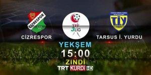 3.Lig'de haftanın maçı çift dilli anlatımla TRT Kürdi'de