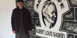 Diyarbakır Surları'nı yıkımdan kurtaran Fransız arkeolog Gabriel'e kafe işletmecisinden vefa