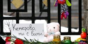 'Rusya'daki AVM Yangınında Ölenlerden 41'i Çocuk'