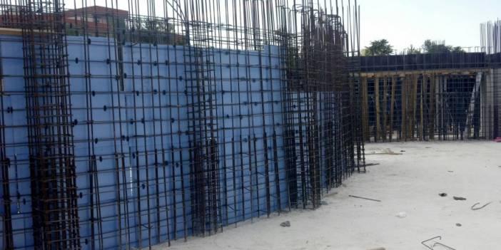 Perde beton ihata yaptırılacaktır