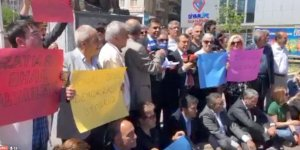 CANLI YAYIN... CHP Diyarbakır İl Örgütü Dağkapı Meydanı'ında oturma eylemi yapıyor