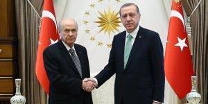 Erdoğan, Bahçeli ile görüşüyor