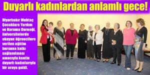 Duyarlı kadınlardan anlamlı gece!