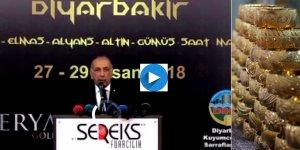 CANLI… Diyarbakır 2'inci Mezopotamya Mücevher Fuarı açılışı