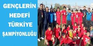Gençlerin hedefi Türkiye şampiyonluğu