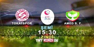 Amedspor'un kapanış maçı TRT Kurdi'de