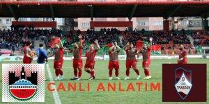 CANLI ANLATIM.. Diyarbekirspor- Yeşil Bursa A.Ş