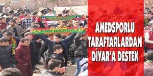 Amedsporlu Taraftarlardan Diyar'a Destek