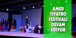 Amed Tiyatro Festivali devam ediyor
