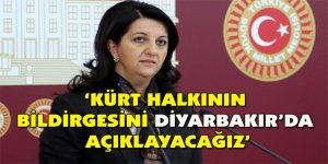 'Kürt halkının bildirgesini Diyarbakır'da açıklayacağız'