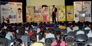 Çocuklar enerji tiyatrosunda buluştu