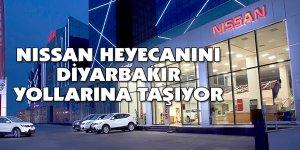 NISSAN heyecanını Diyarbakır yollarına taşıyor