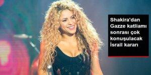 Shakira, Tel Aviv'de Vereceği Konserini, İsrail Katliamına Tepki Olarak İptal Etti