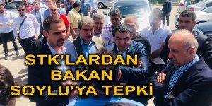STK' LARDAN BAKAN SOYLU'YA TEPKİ
