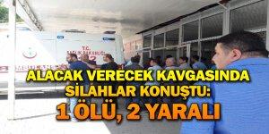 Diyarbakır'da alacak verecek kavgasında silahlar konuştu: 1 ölü, 2 yaralı
