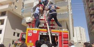 Mardin'de korkutan yangın