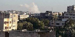 Gazze'de sebebi bilinmeyen patlama!