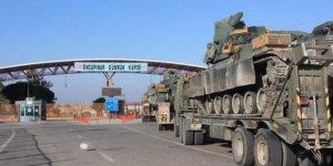 TSK'dan Suriye sınırına askeri sevkıyat