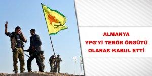 Almanya, YPG'nin Terör Örgütü Olarak Kabul Etti