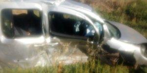 Trafik Kazası 5 kişi yaralandı