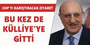 CHP İstanbul Milletvekili İlhan Kesici Cumhurbaşkanlığı Külliyesi'nde Erdoğan'ı ziyaret etti