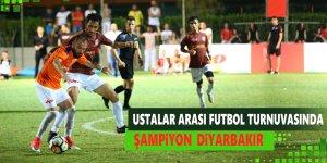 Ustalar Arası Futbol Turnuvasında Şampiyon Diyarbakır Oldu