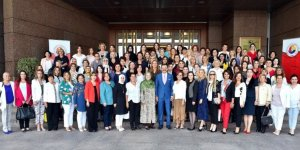 Tobb Kadın Girişimcileri İl Başkanları Hisarcıklıoğlu İle Bir Araya Geldi