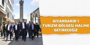 Bakan Kurum : Diyarbakır'ı Turizm Bölgesi Haline Getireceğiz