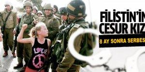 'Filistin'in cesur kızı' 8 ay sonra serbest bırakıldı