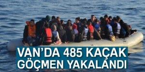 Van'da 485 Göçmen Yakalandı