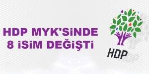 HDP MYK'sinde 8 isim değişti