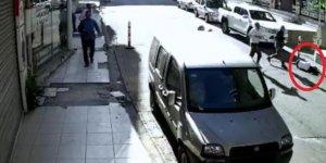 Kadın öğretmeni tekmeleyen motosikletli saldırgan yakalandı