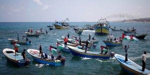 Gazzeliler ablukayı kırmak için gemiyle Akdeniz'e açılacak