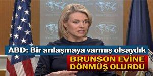 ABD Dışişleri Sözcüsü Heather günlük basın toplantısı düzenledi