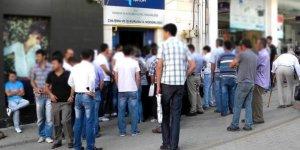 Mayısta işsizlik oranı yarım puan düştü