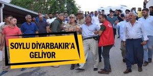 Bakan Soylu Diyarbakır'a geliyor