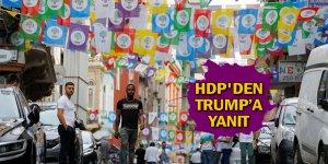 HDP'den Trump'a yanıt
