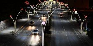 Lale Motifli sokak lambaları