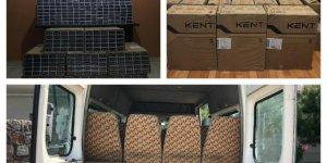 10 Bin 650 Paket Kaçak Sigara Ele Geçirildi