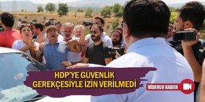 HDP'ye izin verilmedi