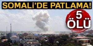 Somali'de patlama: 5 ölü