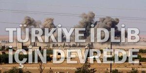 Rusya 22 gün sonra İdlib'i vurdu