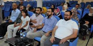 Kur'an okuma yarışmasına buruk bir heyecanla katıldılar